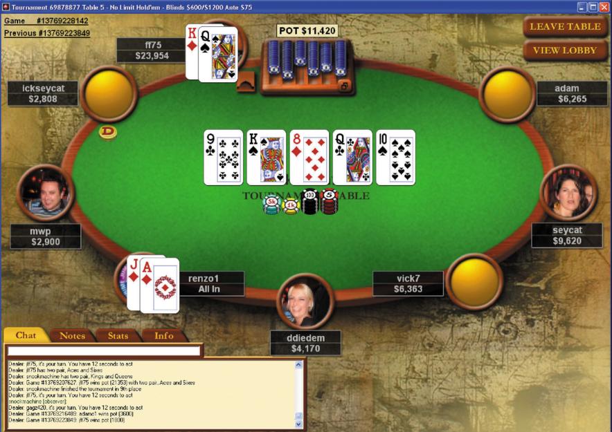 gratis poker pokerstars
